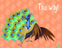 Peacock_Sign_with_background